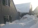 Unser Zuhause im Schnee 650 mtr ü.N.